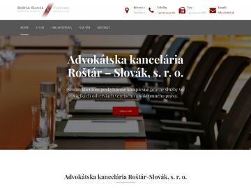 Advokátska kancelária Roštár-Slovák