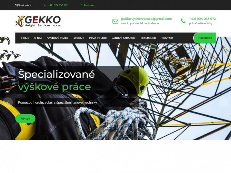 Gekko Height Services s. r. o.