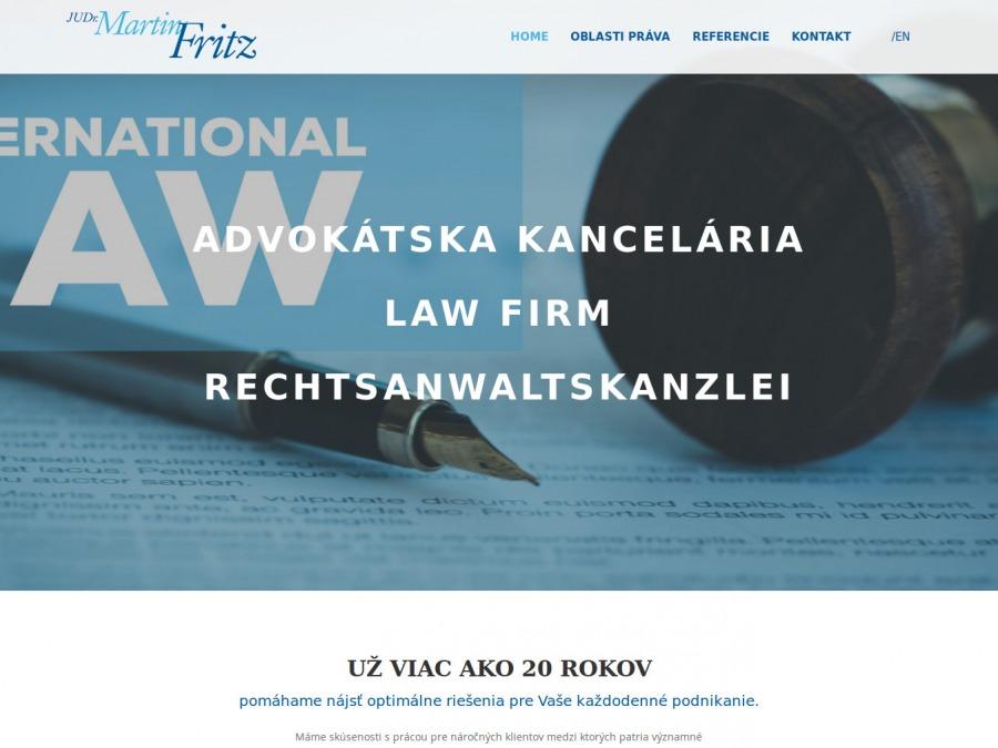 JUDr. Martin Fritz