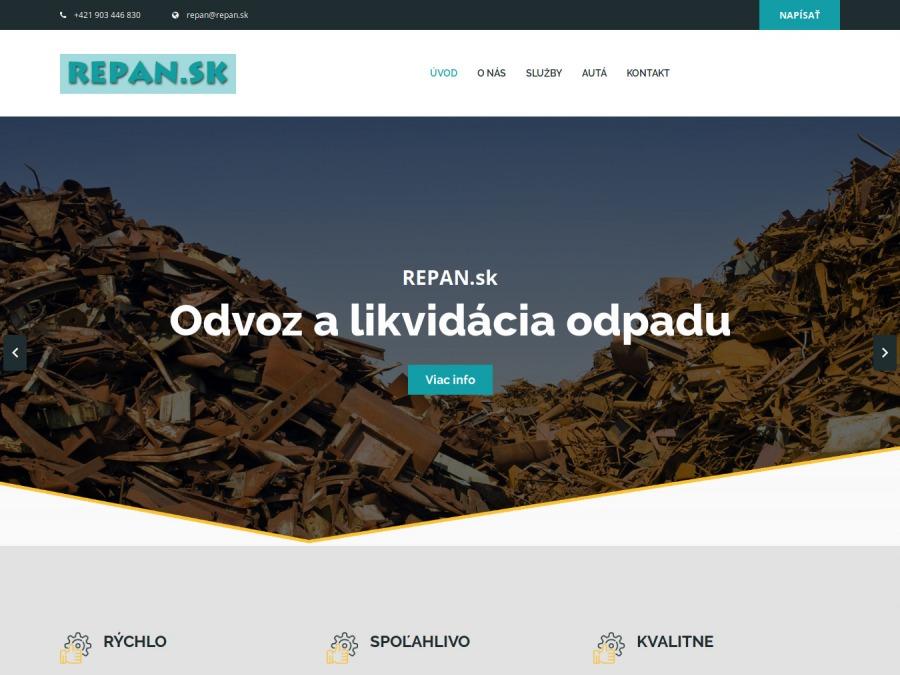 Miroslav Repáň – odvoz odpadu