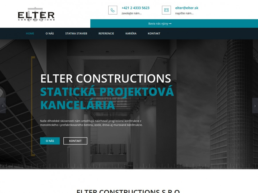 ELTER constructions, s.r.o.