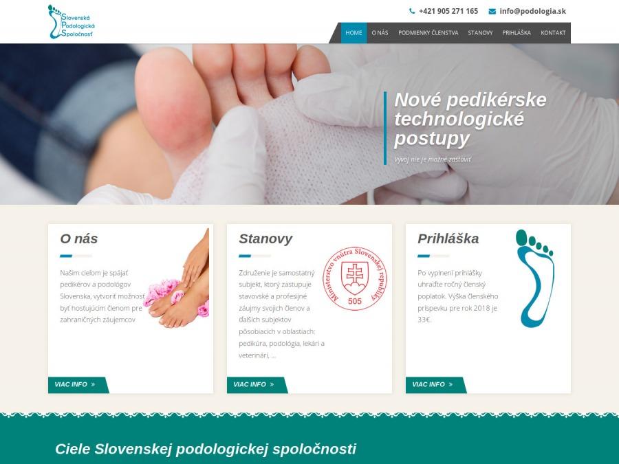 Slovenská podologická spolo�nosť