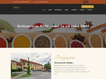 Reštaurácia Bini