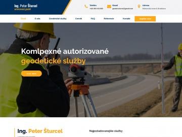 Geodet Ing. Peter Šturcel