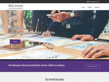 REG Invest., s.r.o.