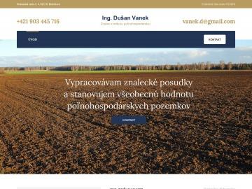 Ing. Dušan Vanek