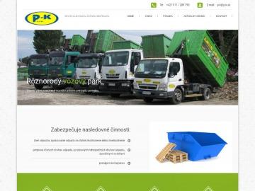 Odvoz odpadu P+K