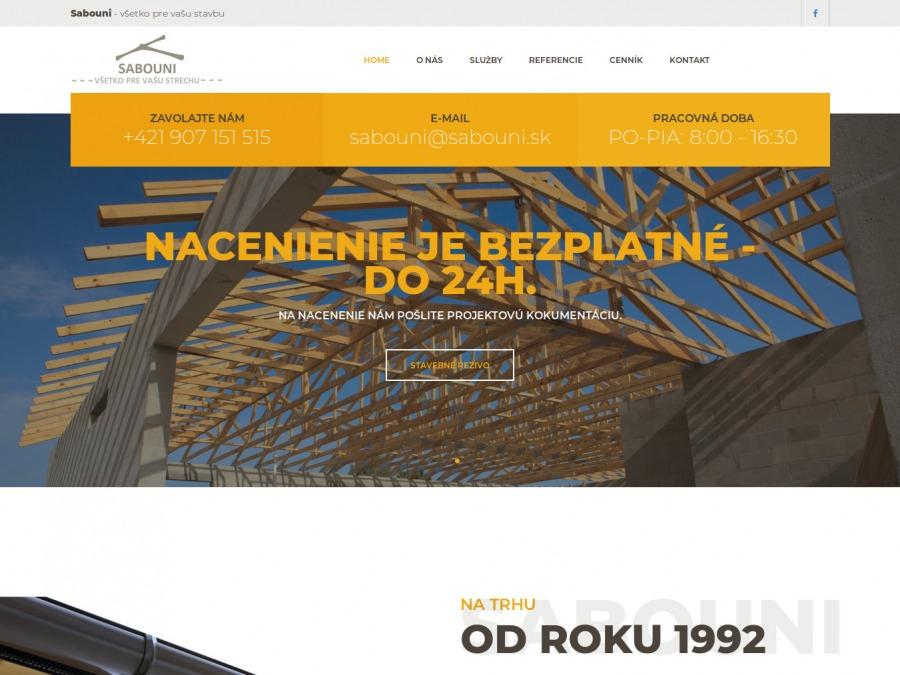 Stavebná firma SABOUNI